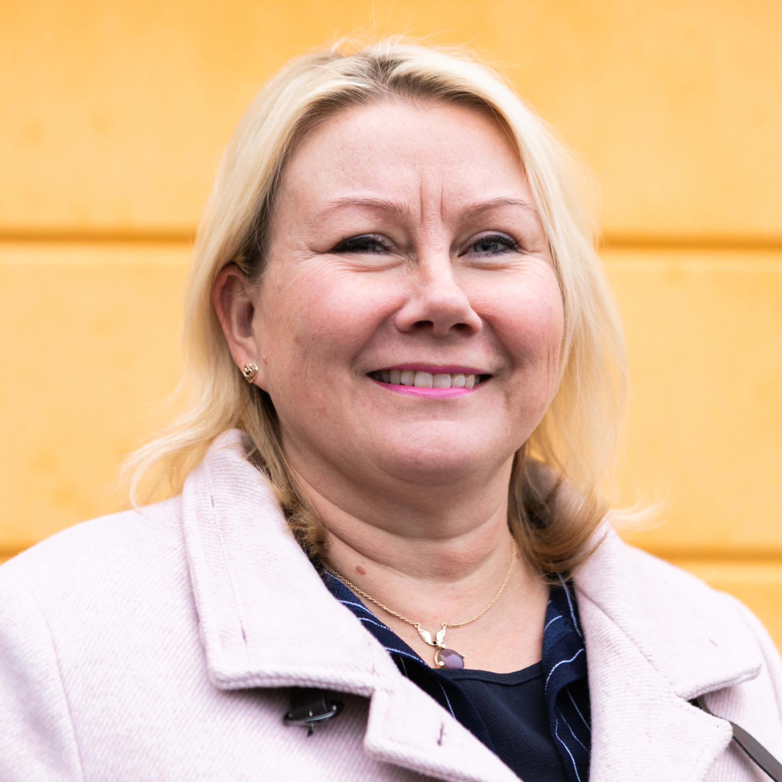 Sofiakylän toimitusjohtaja Riitta Peltonen