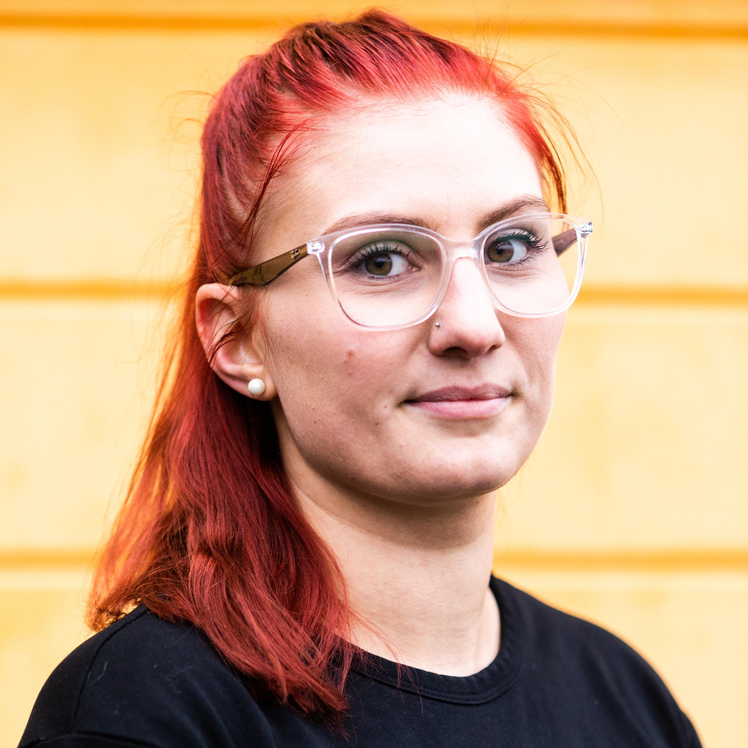 Sofiakylän asiakaspalvelu Amanda Renard
